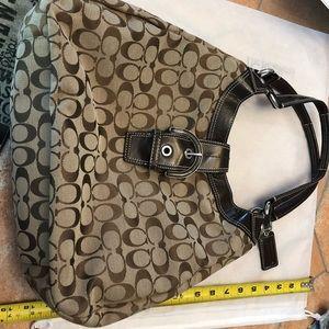 Authentic iconic Coach handbag